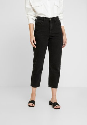 HIGH WAIST DRACO - Jeans straight leg - washed black