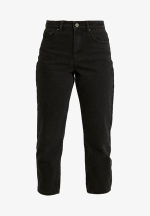 HIGH WAIST DRACO - Jeans a sigaretta - washed black