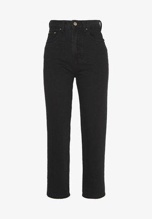 STRAIGHT - Jeansy Straight Leg - black denim