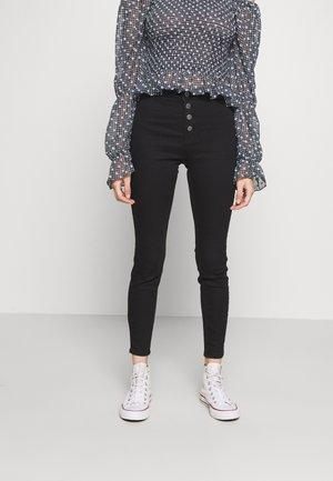 MID RISE JEGGING - Jeans Skinny - black