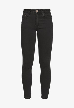 MID RISE - Jeans Skinny - washed black