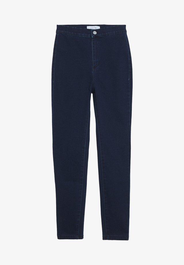 HIGH RISE - Jeans Skinny Fit - dark denim