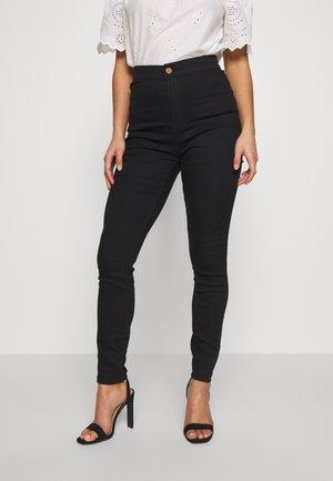 HIGH RISE - Skinny džíny - black