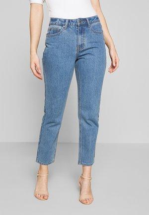 MOM ELDERBERRY - Straight leg jeans - elderberry