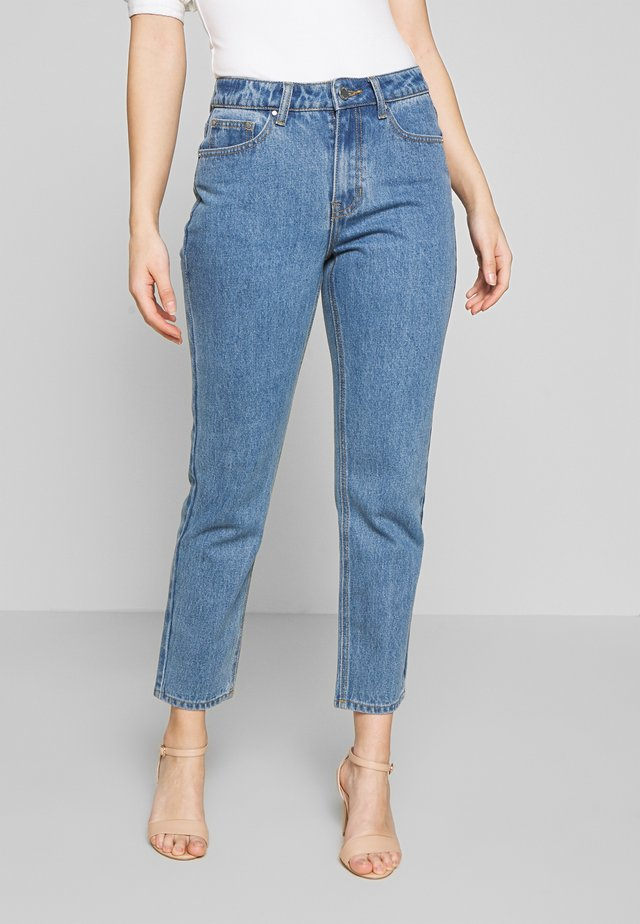 MOM ELDERBERRY - Jeans straight leg - elderberry