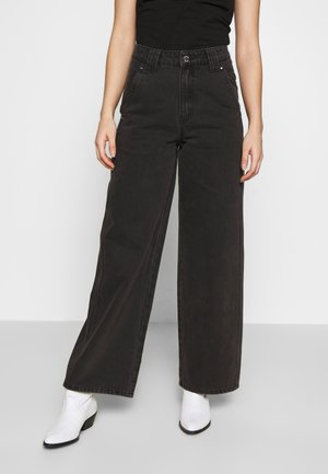 BALLOON - Jeans straight leg - black