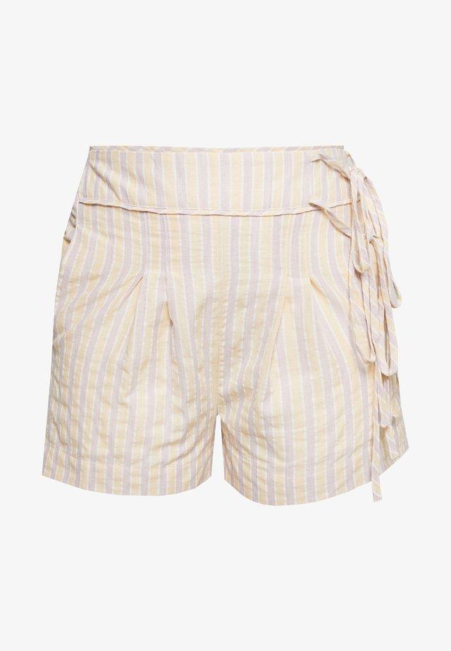 STRIPE TIE SIDE SHORT - Shorts - multi coloured