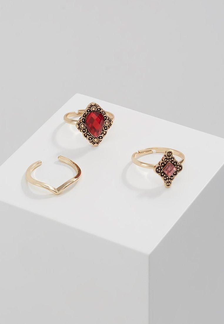 Lova & Rosie - MULTI 3 PACK - Ring - gold-coloured