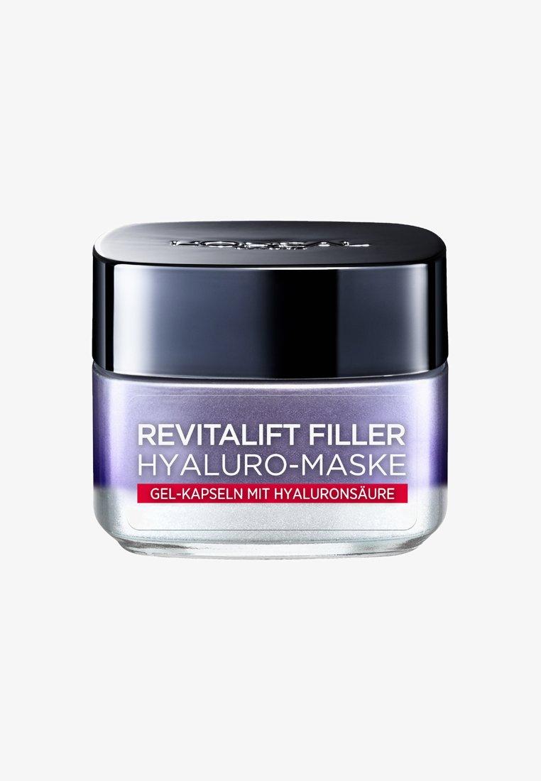 L'Oréal Paris Skin - REVITALIFT FILLER HYALURO MASK 50ML - Ansigtsmaske - -