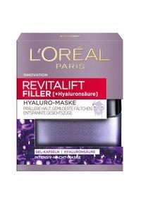 L'Oréal Paris Skin - REVITALIFT FILLER HYALURO MASK 50ML - Ansigtsmaske - - - 1