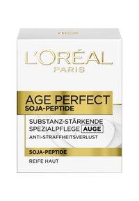 L'Oréal Paris Skin - AGE PERFECT SOY PEPTIDES 15ML - Øjenpleje - - - 1