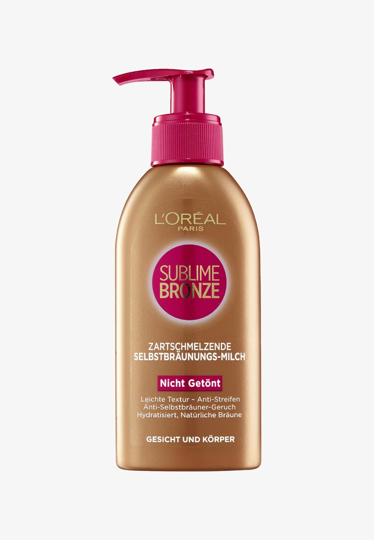 L'Oréal Paris Skin - SUBLIME BRONZE MILK 150ML - Brun-utan-sol - -