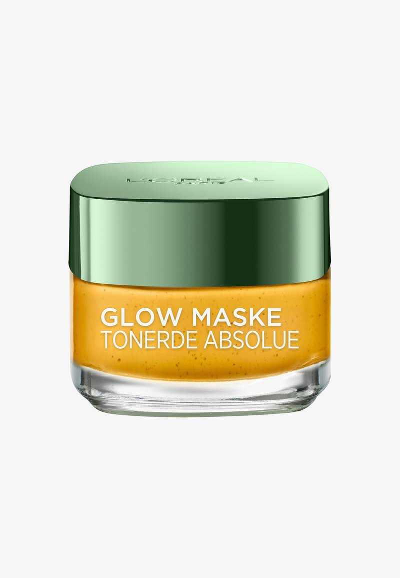 L'Oréal Paris Skin - CLAY ABSOLUTE GLOW MASK 50ML - Gesichtsmaske - -