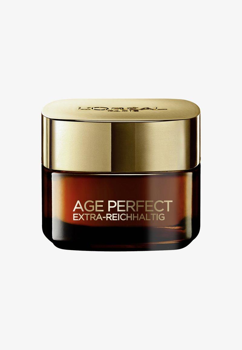 L'Oréal Paris Skin - AAGE PERFECT EXTRA-RICH MANUKA DAY CREAM 50ML - Dagkräm - -