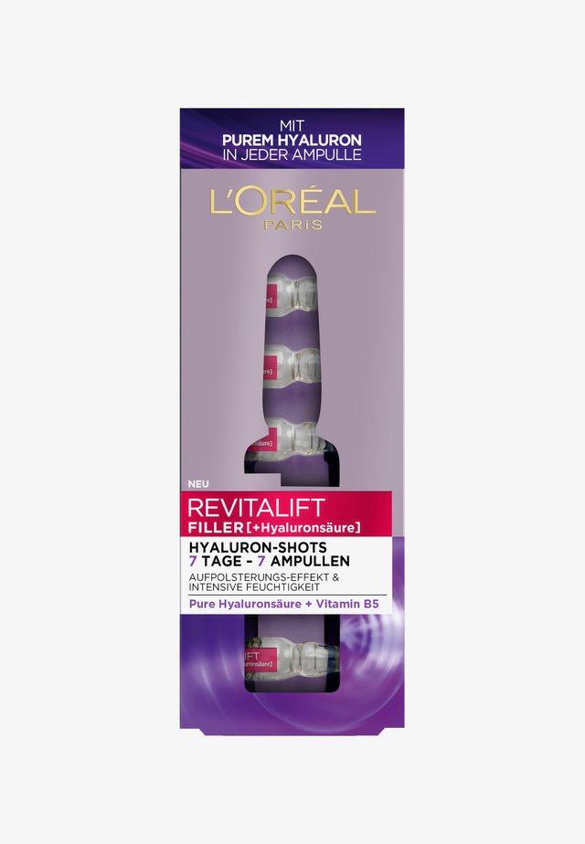 REVITALIFT FILLER 7 DAY HYALUROCURE REPLUMPING AMPOULES - Serum - -