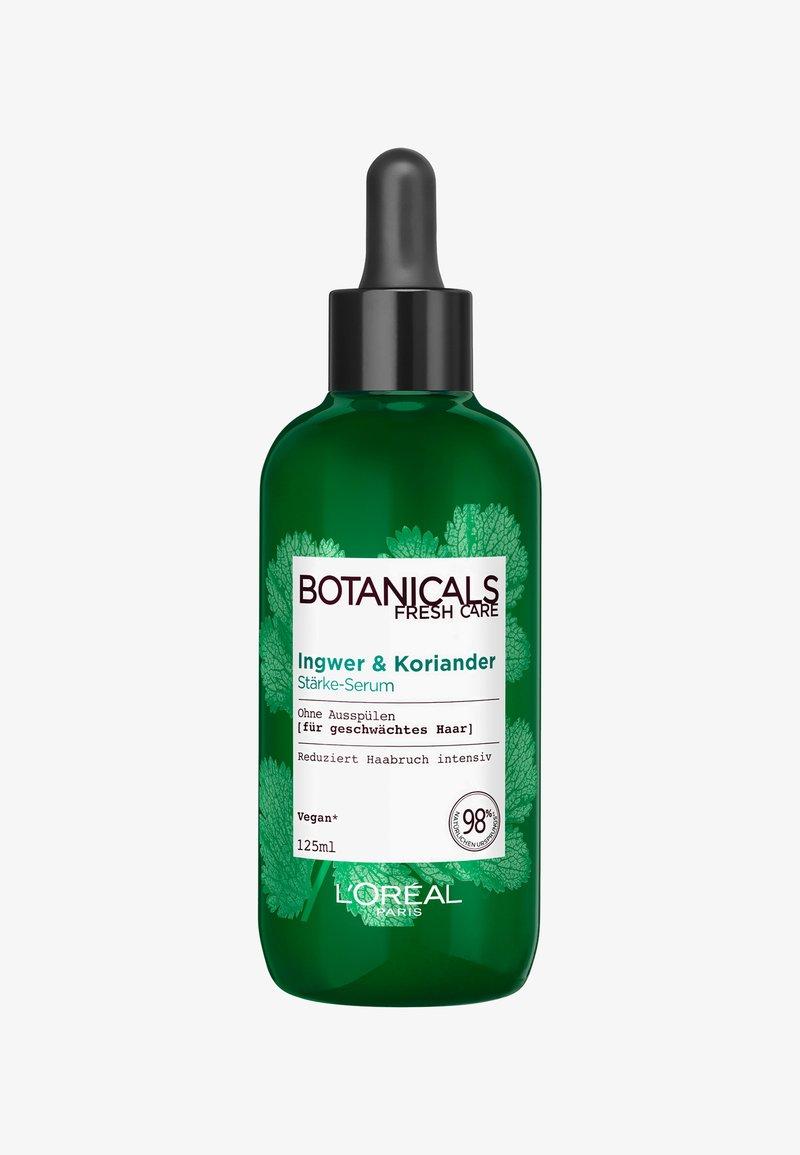 L'Oréal Paris Botanicals Fresh Care - GINGER & CORIANDER STRENGTHENING POTION - Hair treatment - -
