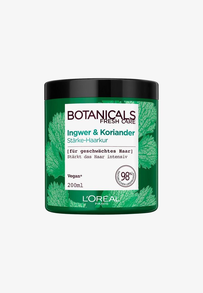 L'Oréal Paris Botanicals Fresh Care - GINGER & CORIANDER STRENGTHENING MASK - Hair mask - -