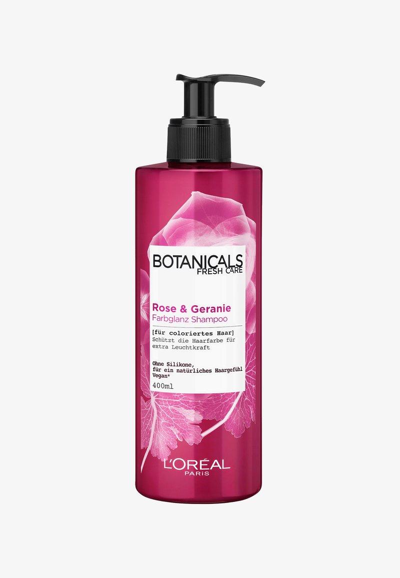 L'Oréal Paris Botanicals Fresh Care - ROSE & GERANIUM RADIANCE SHAMPOO - Shampoo - -