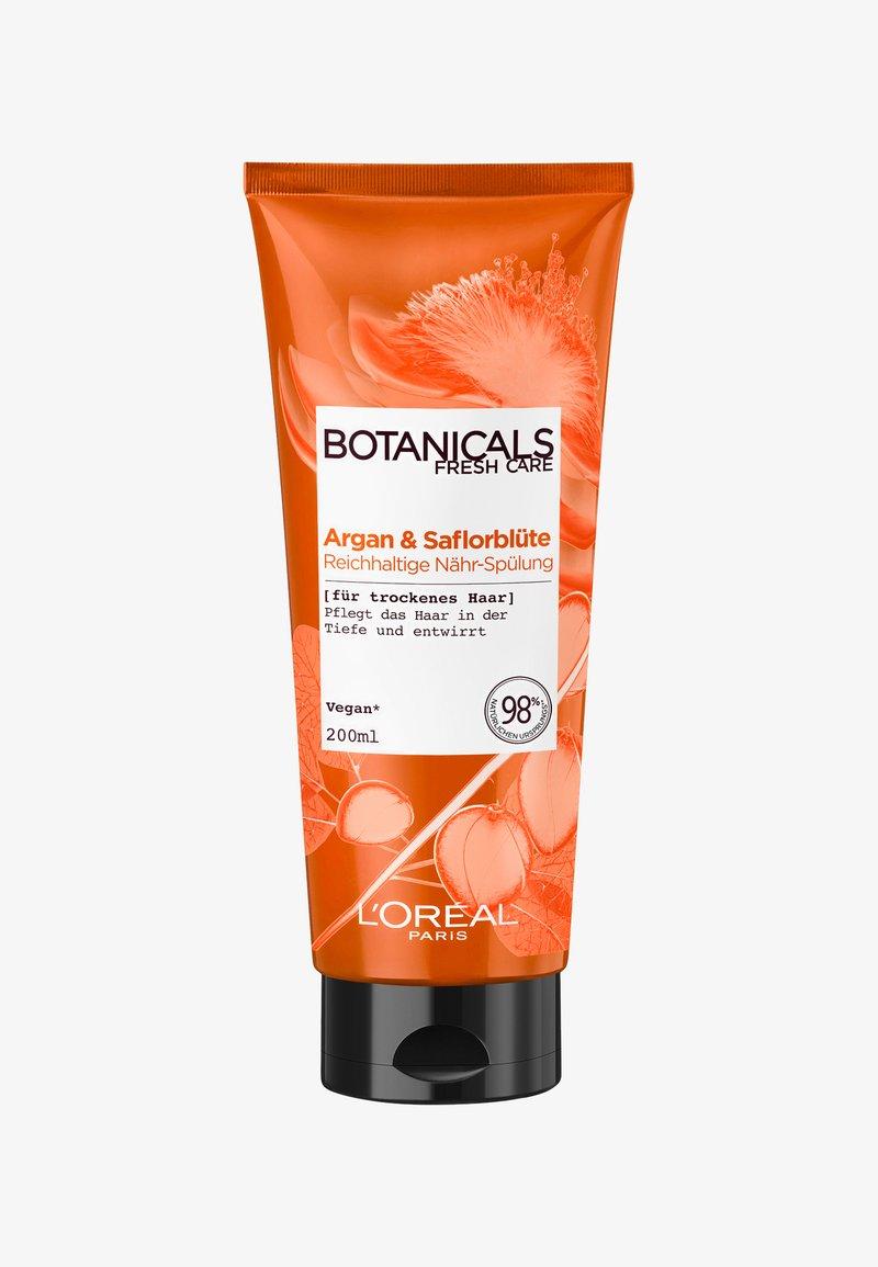 L'Oréal Paris Botanicals Fresh Care - ARGAN & SAFFLOWER NOURISHING CONDITIONER - Balsam - -