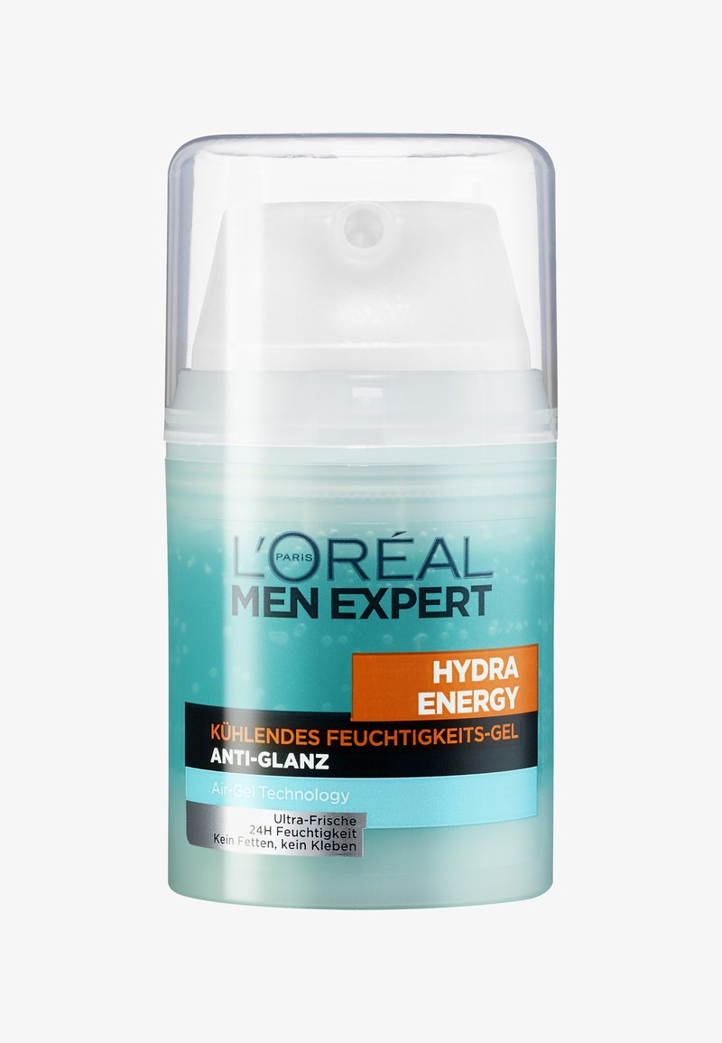 L'Oréal Men Expert - HYDRA ENERGY COOLING MOISTURIZING ANTI-GLARE 50ML - Soin de jour - -