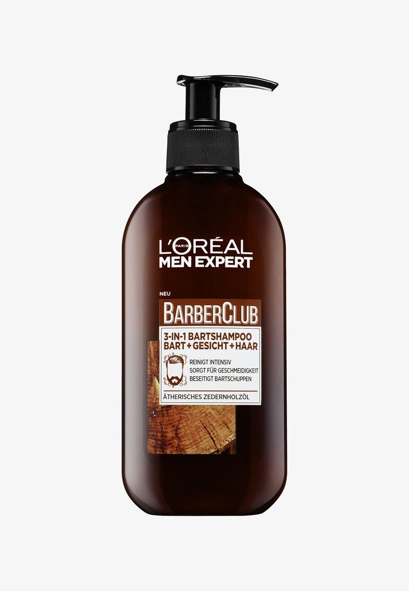 L'Oréal Men Expert - BARBER CLUB 3IN1 SHAMPOO 200ML - Skäggschampo - -