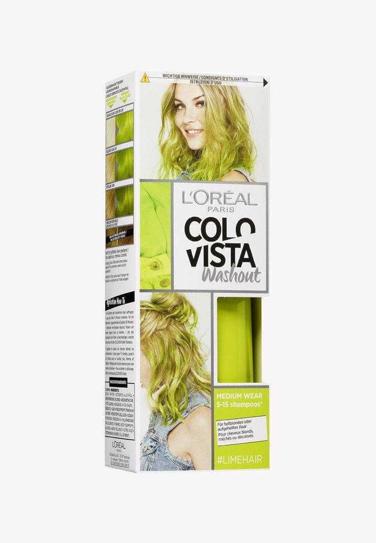 L'Oréal Paris Colovista - WASH OUT - Hair colour - 17 limehair