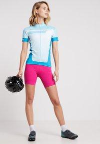 LÖFFLER - BIKE TRIKOT HOTBOND®  - T-Shirt print - topaz blue - 1