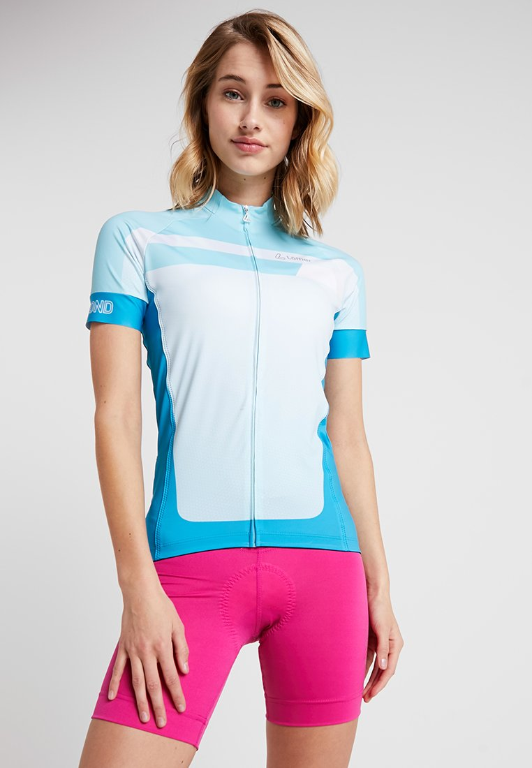 LÖFFLER - BIKE TRIKOT HOTBOND®  - T-Shirt print - topaz blue