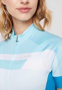 LÖFFLER - BIKE TRIKOT HOTBOND®  - T-Shirt print - topaz blue - 7
