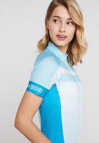 LÖFFLER - BIKE TRIKOT HOTBOND®  - T-Shirt print - topaz blue - 4