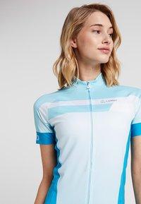 LÖFFLER - BIKE TRIKOT HOTBOND®  - T-Shirt print - topaz blue - 3