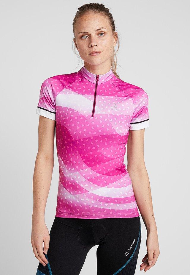 BIKE TRIKOT PRISMA  - T-shirts med print - berry