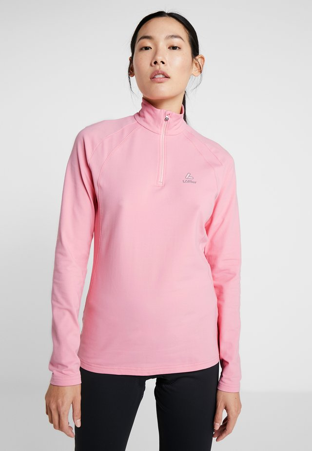 BASIC THERMO - Long sleeved top - pink rose