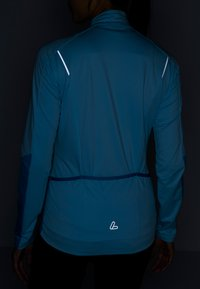 LÖFFLER - BIKE LANGARMTRIKOT GLAMOUR - Top sdlouhým rukávem - blue - 5