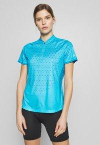LÖFFLER - BIKE RISE UP - T-Shirt print - sky - 0