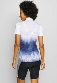 LÖFFLER - BIKE EVO - Print T-shirt - night blue - 2