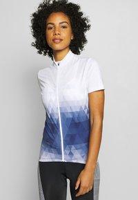 LÖFFLER - BIKE EVO - Print T-shirt - night blue - 0