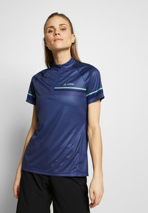 BIKE PACE - T-shirt med print - plum