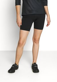 LÖFFLER - BIKE EXTRA SHORT TOUR - Leggings - black - 0
