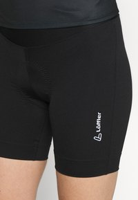 LÖFFLER - BIKE EXTRA SHORT TOUR - Leggings - black - 4