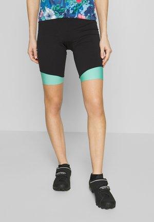 BIKE SHORT  - Tights - black/mint