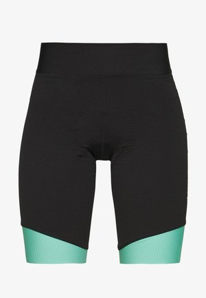 BIKE SHORT  - Tights - black/mint