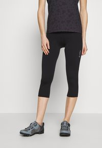 LÖFFLER - BIKE BASIC - 3/4 sports trousers - black - 0