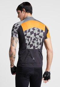LÖFFLER - BIKE TRIKOT ASTON - T-Shirt print - orange - 2