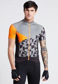 LÖFFLER - BIKE TRIKOT ASTON - T-Shirt print - orange - 0