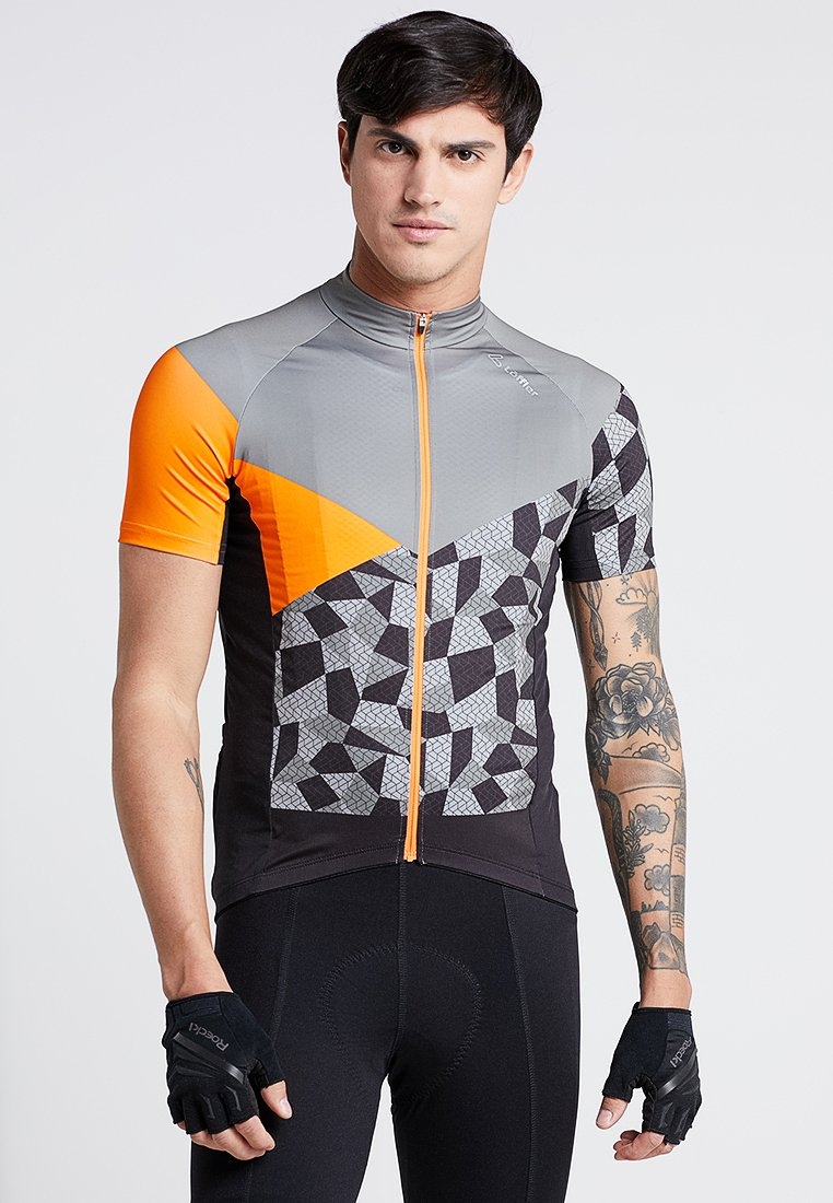 LÖFFLER - BIKE TRIKOT ASTON - Print T-shirt - orange