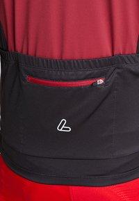 LÖFFLER - BIKE TRIKOT ALPS - T-Shirt print - red - 5