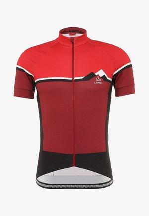 BIKE TRIKOT ALPS - Print T-shirt - red