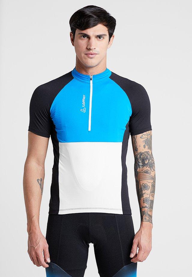 BIKE TRIKOT BLOCK - T-shirt med print - brillant