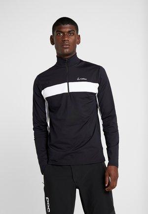 MARCO THERMO - Sportshirt - black/white